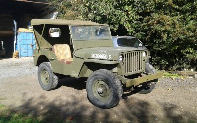 WILLYS MB WW2 JEEP 1945 SOLD