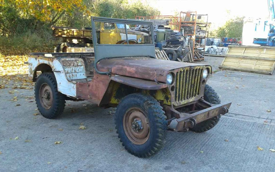 FORD  GPW 1943 SOLD