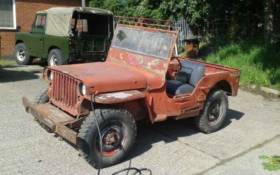 1945 WILLYS MB 4 MARCH SOLD