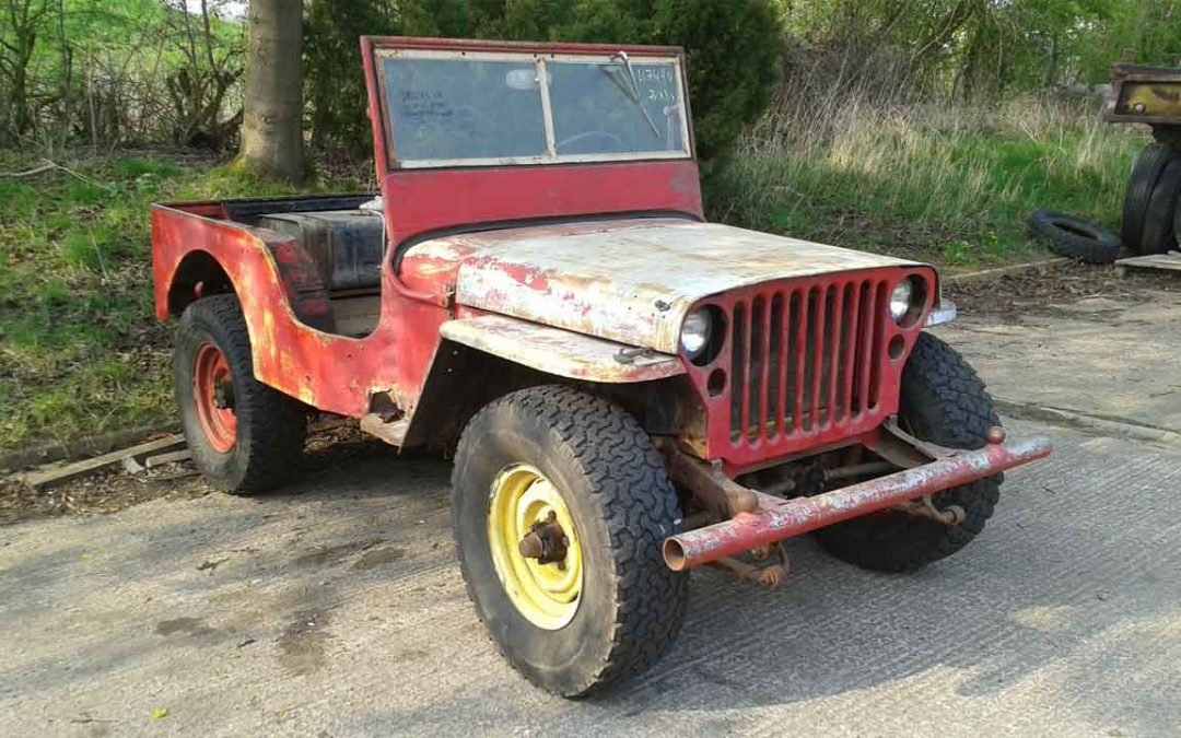 FORD GPW JULY 1942 SOLD