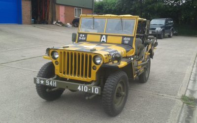 "1943 WILLYS MB ""FOLLOW ME ""JEEP SOLD"