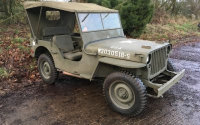 1942 WILLYS MB SOLD