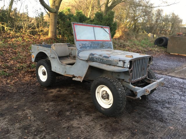 May 45 MB WW2 JEEP SOLD