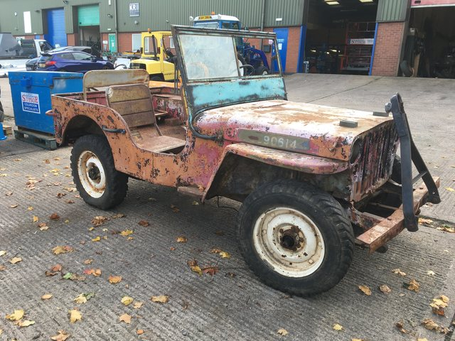 2nd of December 1944 GPW Jeep