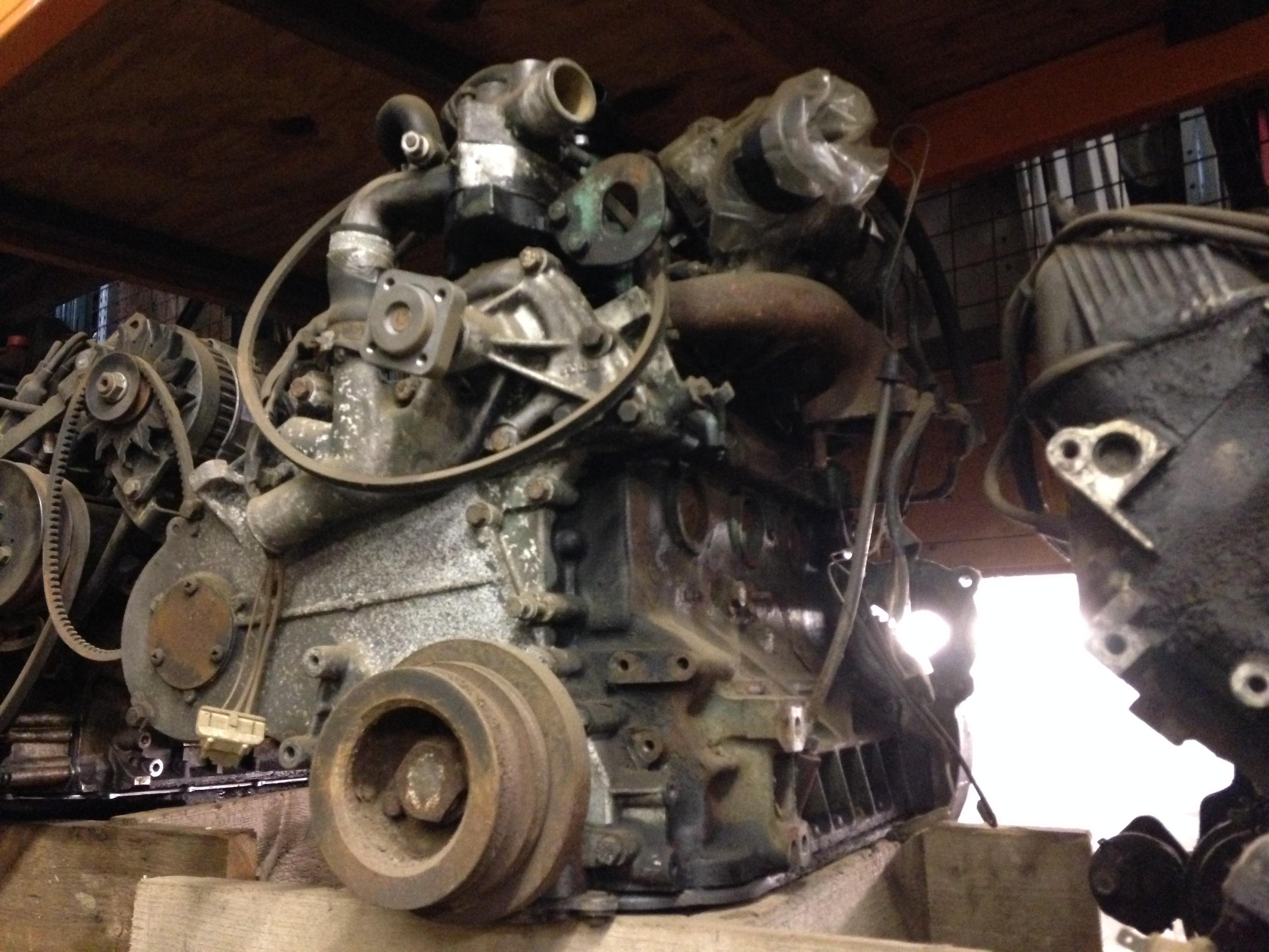 Land Rover 2.5 Diesel engine