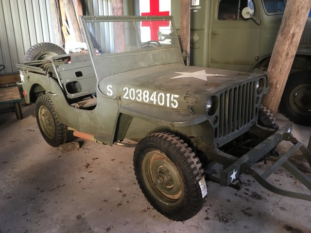 1943 GPW Jeep SOLD