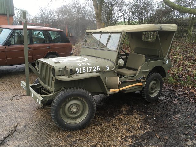16/9/42 GPW Jeep SOLD