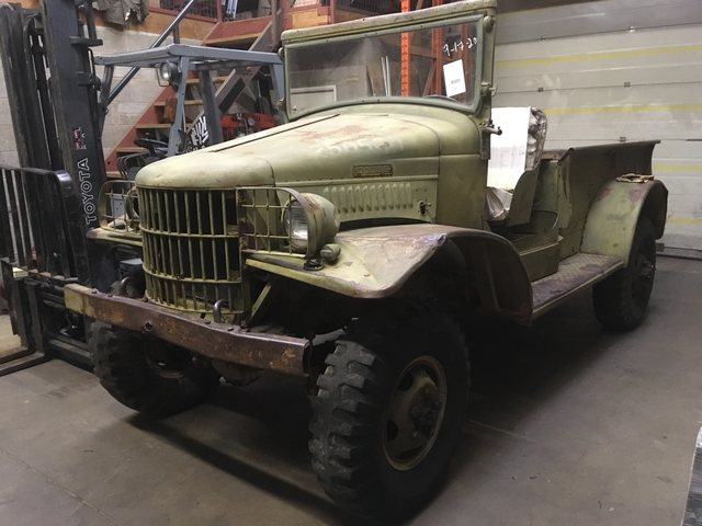 WW 2 Dodge WC 21 open cab  SOLD