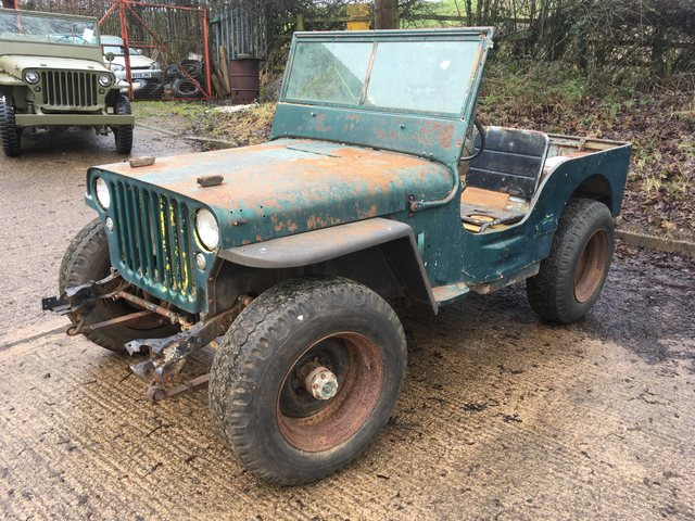 November 1942 willys MB SOLD