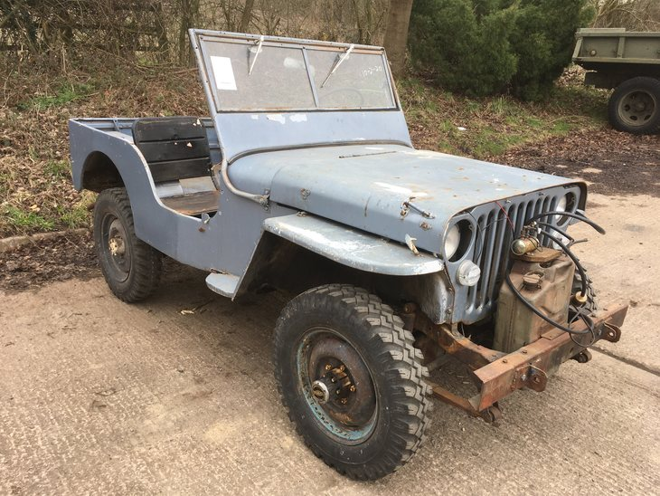 January 1943 Willys MB SOLD