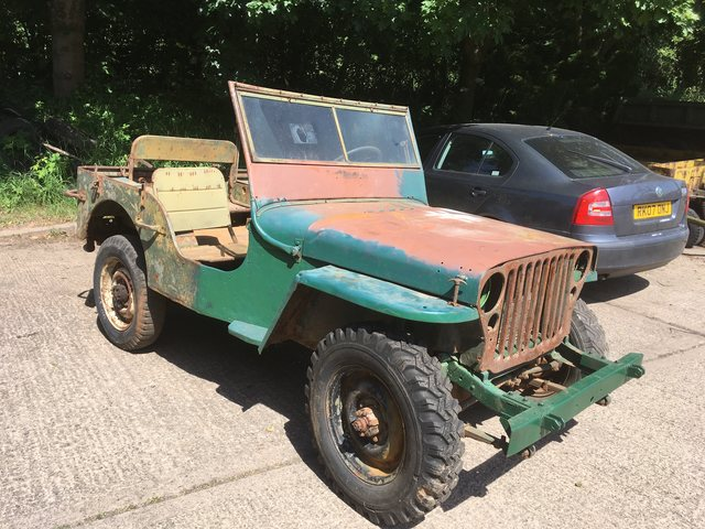 12th March 1944 Ford GPW Jeep (new arrival)